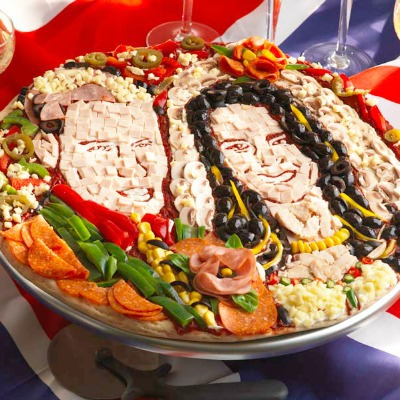 royal wedding pizza craft