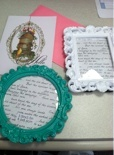 diy bridesmaid gift photo frames