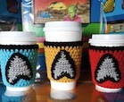 Star Trek Crafts, Mug Cozies