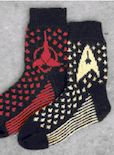 Star Trek Crafts, Socks