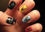 Star Trek Crafts, Nail Art