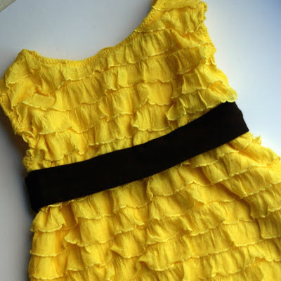 ruffled sundress for girls