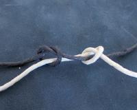 Tie a slipknot