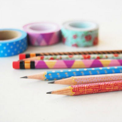 washi tape crafts for teens, duck tape crafts