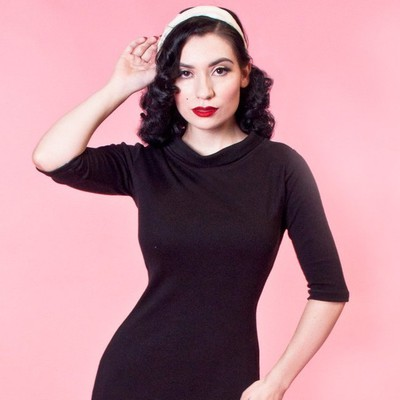 Super Spy Vintage Style Dress