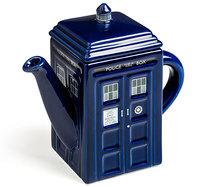 doctor who tardis gift teapot