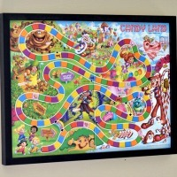 Framed Board Games as a DIY Toddler Room Idea