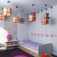 Pulley System as a DIY Toddler Room Design Idea