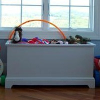 Open Top Toy Chest as a Creative Toy Storage Solution