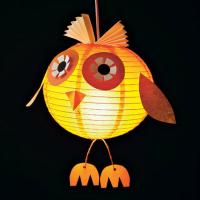 Owl Glow Paper Lantern Craft