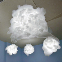 DIY Dreamy Cloud Lantern Craft