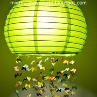 Butterfly Mobile Lantern Craft
