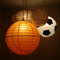 Sporty DIY lantern craft