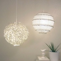 Pom Pom and Flower Paper Lantern Crafts