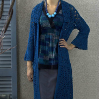 Amsterdam Coat Free Crochet Sweater Pattern