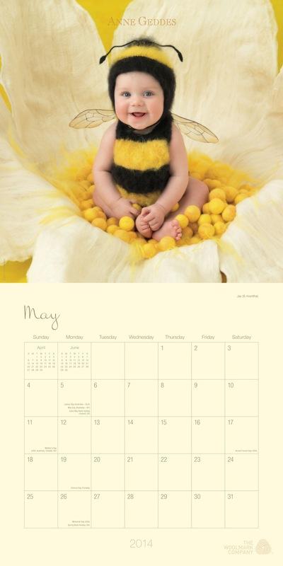 Anne Geddes 2014 Heartfelt Calendar