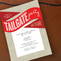 Free Printable Tailgate Party Invitation