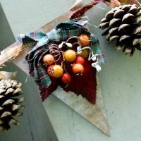 Fall Craft Idea--Rustic Banner