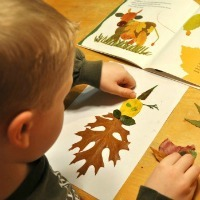 Fall Crafts for Kids -- Leaf Designs