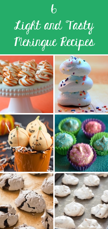 6 Light and Tasty Meringue Recipes from Craftfoxes