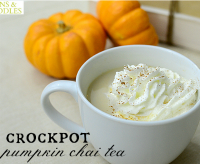 Crock-pot Fall Recipes: Crockpot Pumpkin Chai Tea