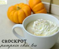 Crock-pot Fall Recipes: Crockpot Pumpkin Chai Tea