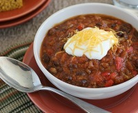 Fall Crockpot Recipes--Pumpkin Chili