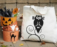 Halloween Crafts: Treat Bags