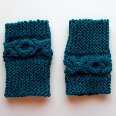 XOXO Boot Cuff Pattern