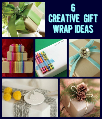 6 Distinctive Gift Wrapping Ideas