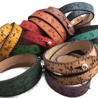Measuring Tape Bracelet - Gift ideas for Crafters