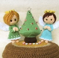 Mini Christmas Tree and Angels