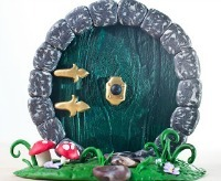 "Hobbit Door -- Creative  Handmade Christmas Gift for ""The Hobbit"" Fans"