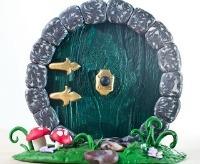 """Hobbit Door -- Creative  Handmade Christmas Gift for """"The Hobbit"""" Fans"""