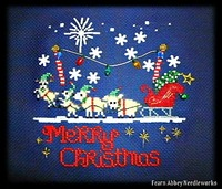 Christmas Cross-Stitch Pattern