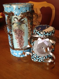 duct tape craft gift container
