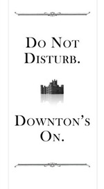 downton abbey door hanger
