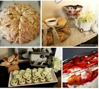 downton abbey viewing party recipes