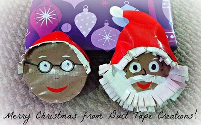 Santa and Mrs. Claus ornaments