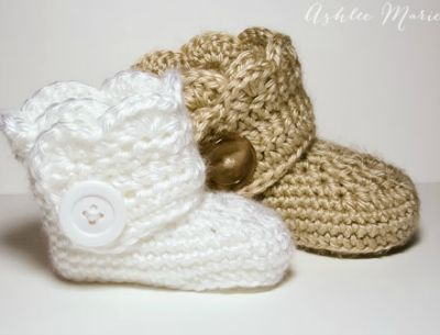 The Cutest Baby Booties To Knit Or Crochet Craftfoxes