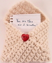 Knit and Crochet Valentine