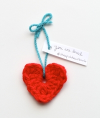 6 Knit and Crochet Valentine