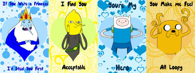 Adventure Time Valentines