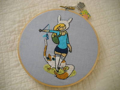 Fionna and Cake Craft