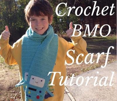 Crochet BMO Scarf