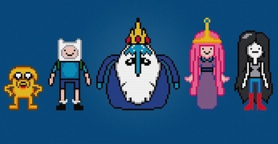 Adventure Time Cross Stitch Pattern