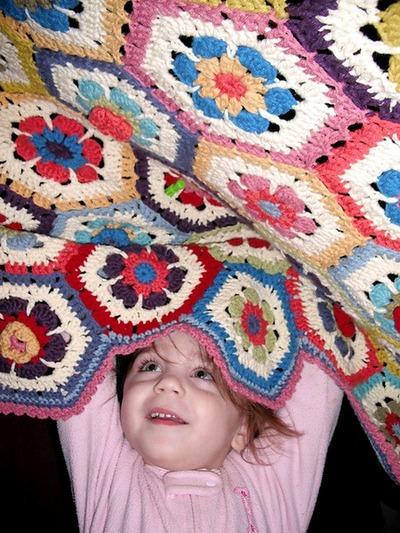 Granny Crochet Afghan Pattern