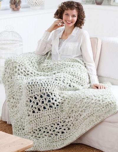 Quick Crochet Afghan