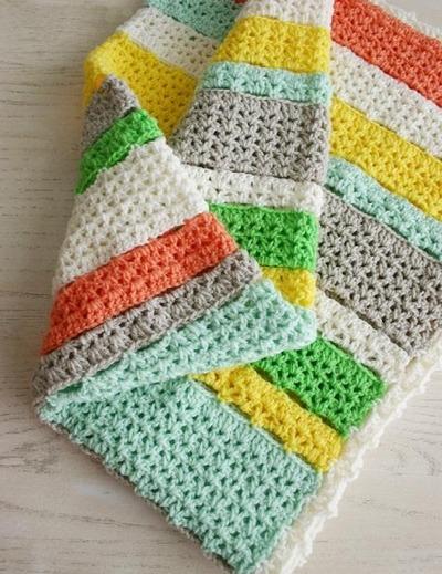 Citrus Afghan Crochet Pattern