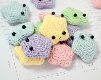 Cute Crochet Star Amigurumi Pattern, Free Amigurumi Patterns